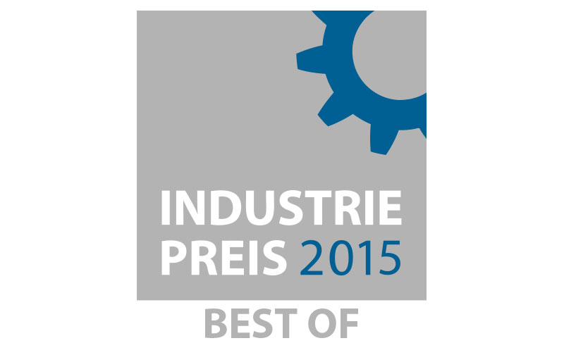 "Le logo ""Best of 2015 » du PRIX DE L'INDUSTRIE 2015."