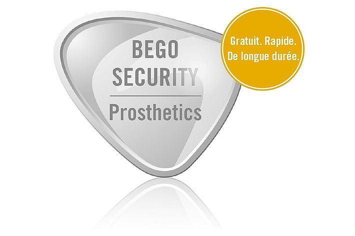 BEGO SECURITY Prosthetics – Prestations de garantie gratuites
